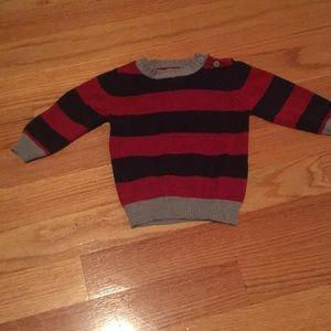Striped sweater, excellent condition!